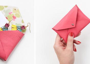 Простий спосіб зробити гаманець без швів
