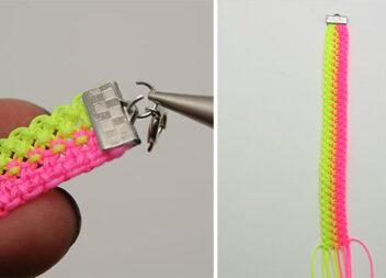 Аксесуар з ниток: плетемо браслет