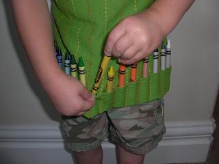 Фартушок для творчої дитини