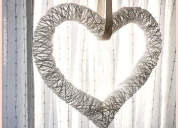 Серце з ниток