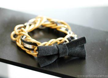 Стильний браслет з ланцюжка