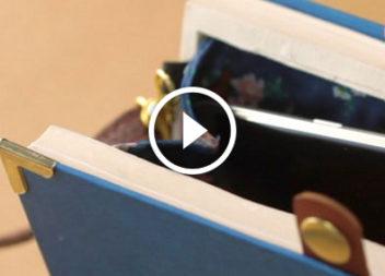 Клатч зі старої книжки. Відео-урок