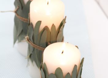 Декоруємо свічку