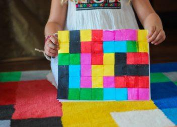 Творимо з дітьми - піксельна картина