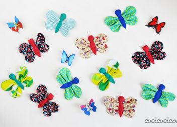 Виготовляємо м'якенькі метелики із тканини. Майстер-клас