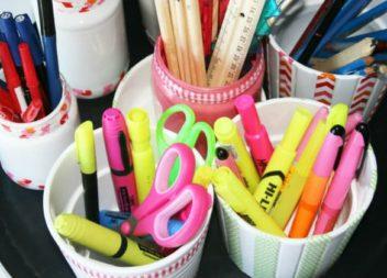 Ідеї органайзерів для письмового приладдя