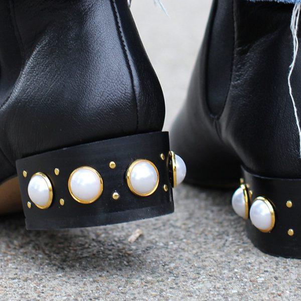 Декоруємо взуття перлами – Самотужки de9c68adf0100