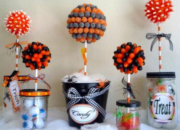 Хеллоуінський декор: ідея для кенді-бару