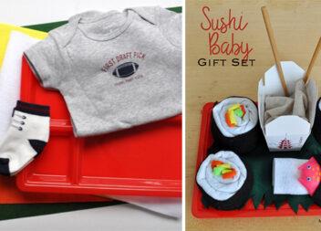 Подарунок для немовлятка: бейбі-суші самотужки