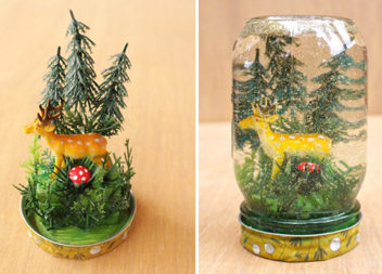 Ліс у банці: зимова казка створена своїми руками. Детальний майстер-клас у фото
