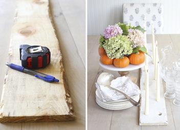 Підсвічник з дерева: стиль і простота