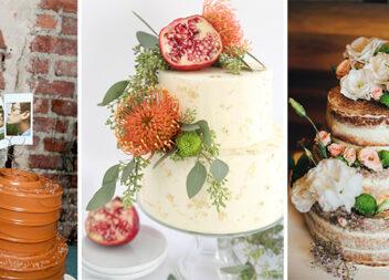 Незвичні ідеї для оформлення весільного торта (21 фото)