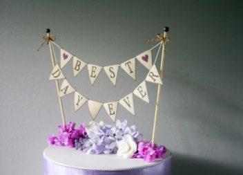 Ідеї для декору весільного торта