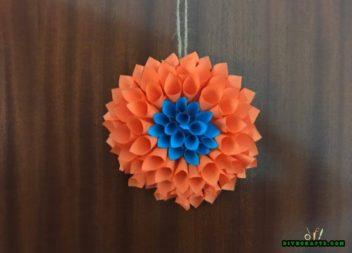 Квітка-орігамі: святкова ідея
