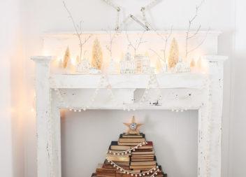Креативна ялинка з книг