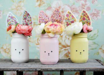 Робимо вазу у вигляді зайчика
