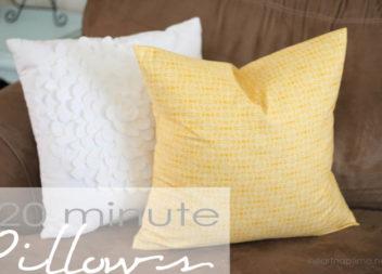 Наволочка для подушки за 20 хвилин