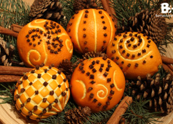 Апельсин для декору