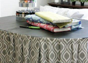 Лайфхак: шторка для столу