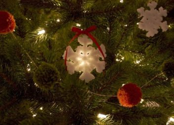 Кришталева сніжинка: зимова казка своїми руками!