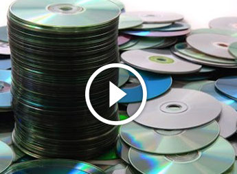 Фоторамка з CD-дисків