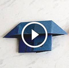 Заняття для дітей: вчимося майструвати хатку з паперу