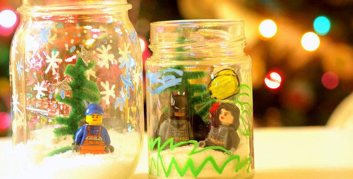Лего в банці: настала зима