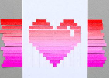 Аплікація: серце-градієнт
