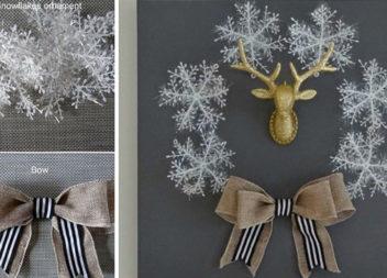 Робимо вінок зі сніжинок самотужки: детальний майстер-клас
