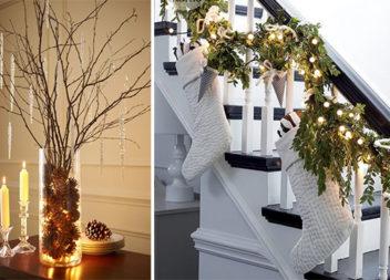 Різдвяні ідеї декору вашого будинку (28 фото)