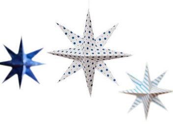 Різдвяна зірка з паперу