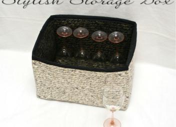 Каробка-органайзер: шиємо самотужки
