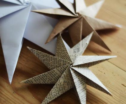 Незвична зірка з паперу: майстер-клас до свят