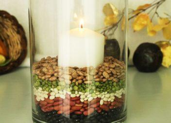 5 варіантів декору свічки