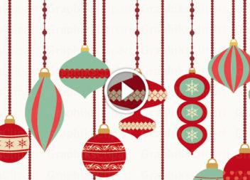 Новорічний кольоровий декор: відео