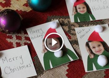 Святкові листівки власноруч: відео-урок