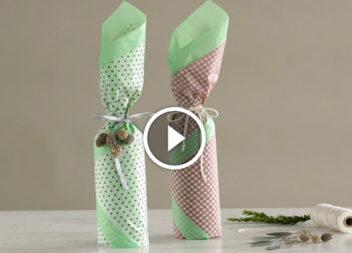 Відео-урок: запаковуємо пляшку