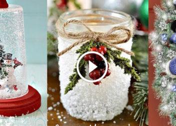 30 ідей рукоділля до Різдва: відео-урок