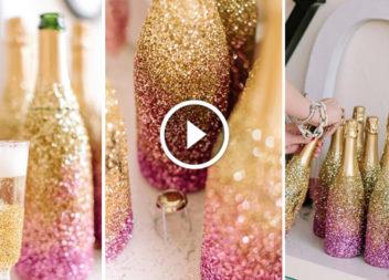 Блискуче шампанське: святковий декор