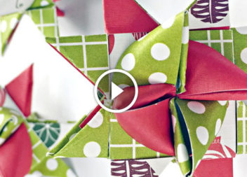 Різдвяна прикраса з паперу: відео-урок