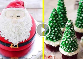 Новорічні торти: відео