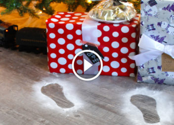 Сліди Діда Мороза: створіть дітям казку