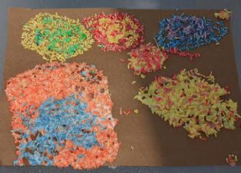 Ідея для творчості: кольоровий рис
