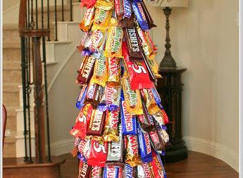 Ялинка з солодощів: подарунок до свят!