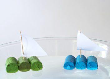 Кораблик з корків: мастер-клас