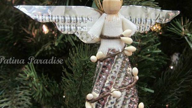 Ангелик: фігурка до свят