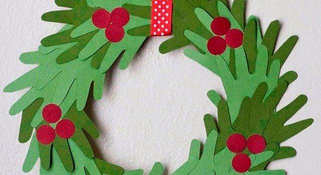 Різдвяний вінок з паперу