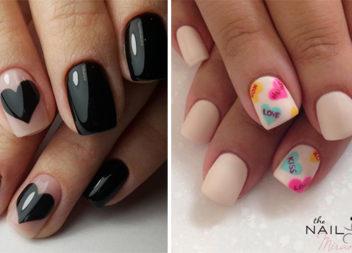 Ідеї манікюру: Дизайн нігтів на День святого Валентина