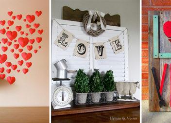 15 чудових способів прикрасити оселю до Дня святого Валентина