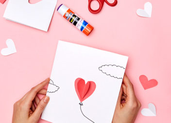 Креативні валентинки із паперу своїми руками. Майстер-класи